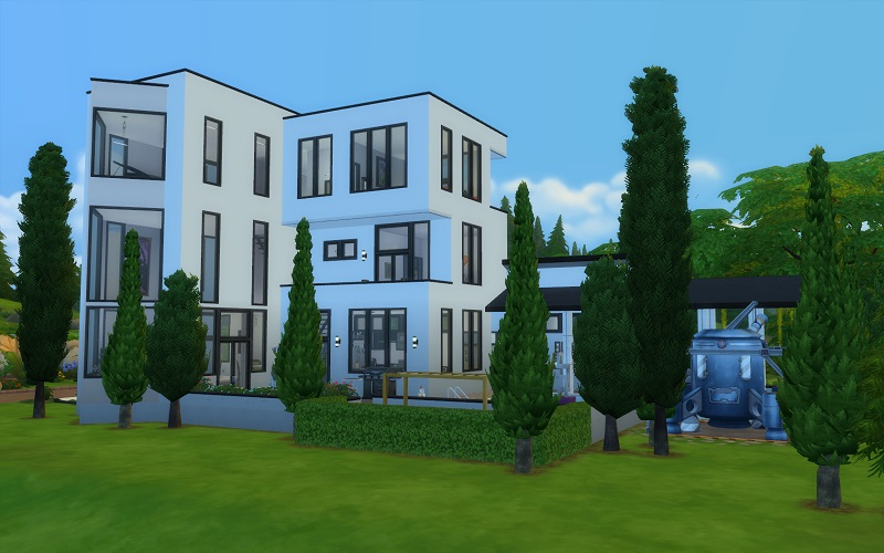 Xq showcase latest the silver stag inn page 3 the sims forums - Lay outs garden terrace ...