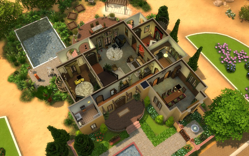 XQ Showcase  Latest: Winterbourne Hall - Page 4 — The Sims Forums